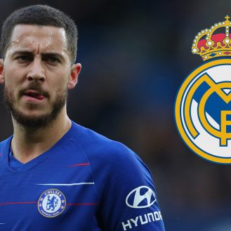 LONDON, ENGLAND - FEBRUARY 02: Eden Hazard of Chelsea  during the Premier League match between Chelsea FC and Huddersfield Town at Stamford Bridge on February 02, 2019 in London, United Kingdom. (Photo by Catherine Ivill/Getty Images)